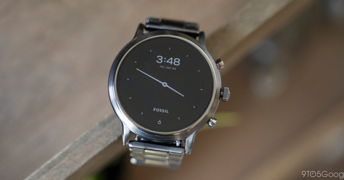 Fossil paused Wear OS H MR2 update for Gen 5 watches to 'iron out some issues' - 9to5Google
