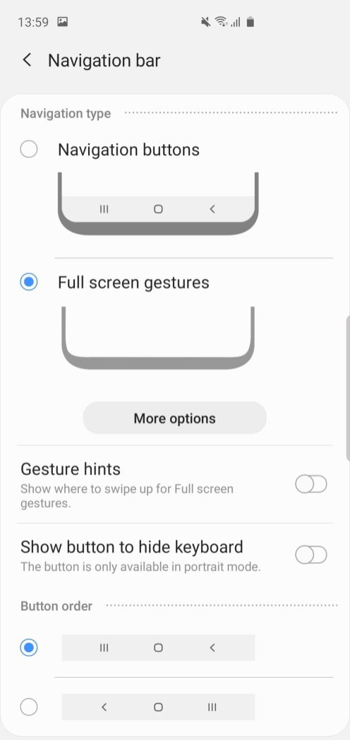 samsung android 10 beta update leak hands-on