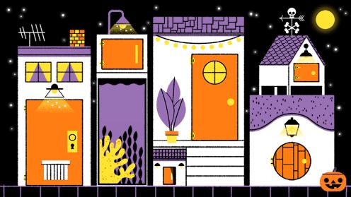 Halloween 2019 Doodle