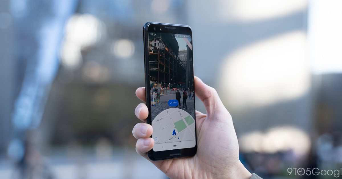 Google Maps can now use Live View AR to calibrate location - 9to5Google