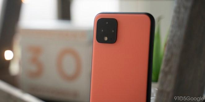 google pixel 4 smaller battery oh so orange