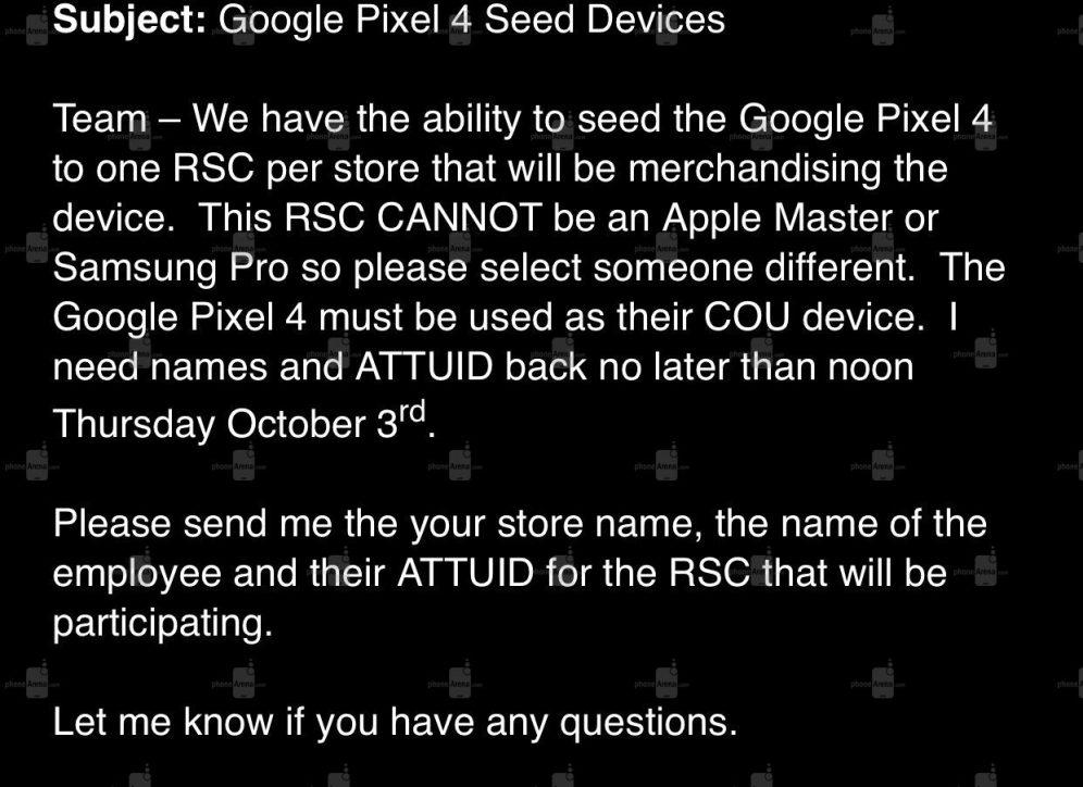 Google Pixel 4 AT&T