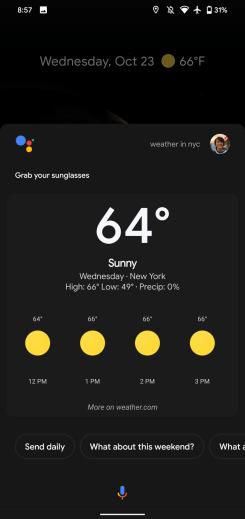 pixel-4-assistant-weather