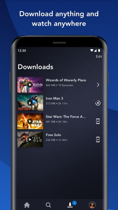 disney+ android app chromecast android tv tablets