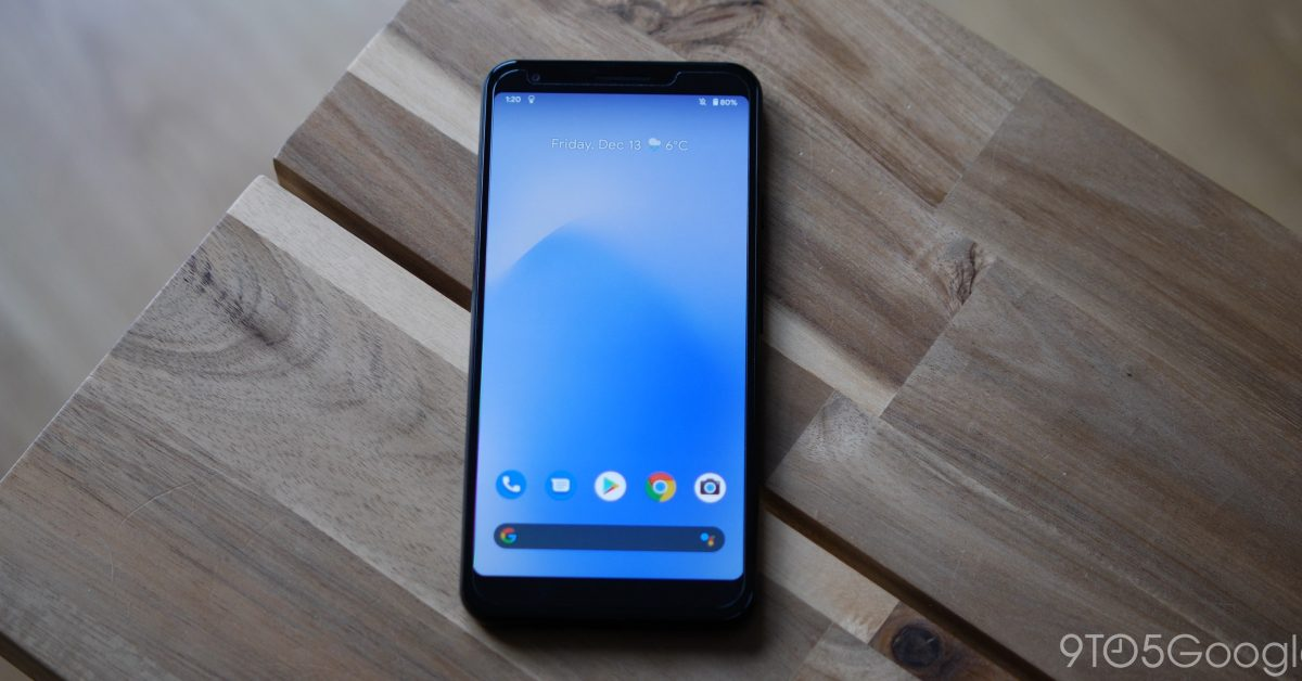 The December 2020 update has done weird things to the Pixel 3a's screen corners - 9to5Google