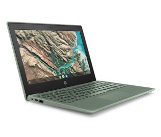 HP Chromebook 11 G8 EE_Sage Green_Front Right