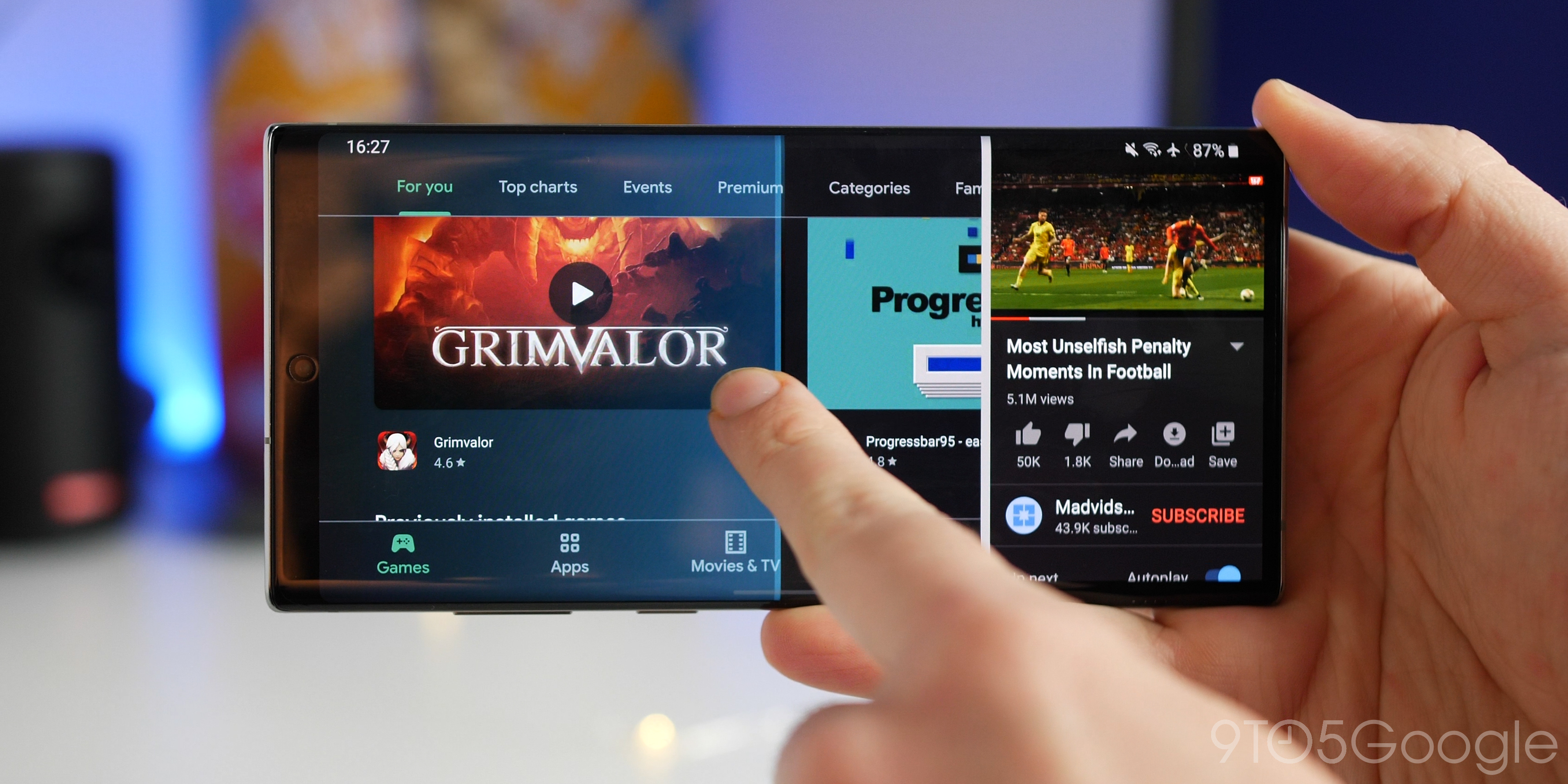 How to enable split-screen multitasking in Android 10 [Video ...