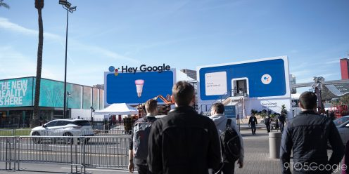 google assistant ces 2020 booth