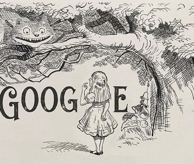 Google Honors Sir John Tenniel Of Alice In Wonderland Fame