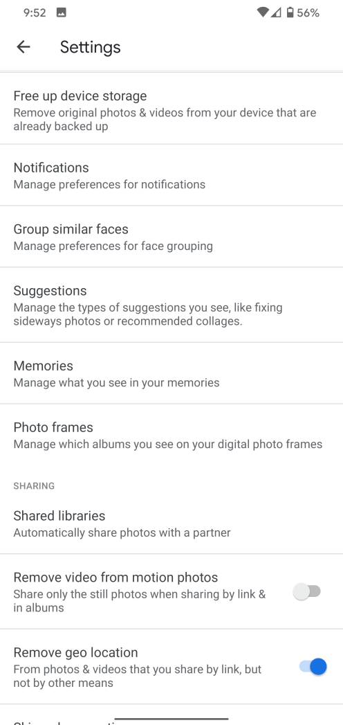 google-photos-4-38-settings-1