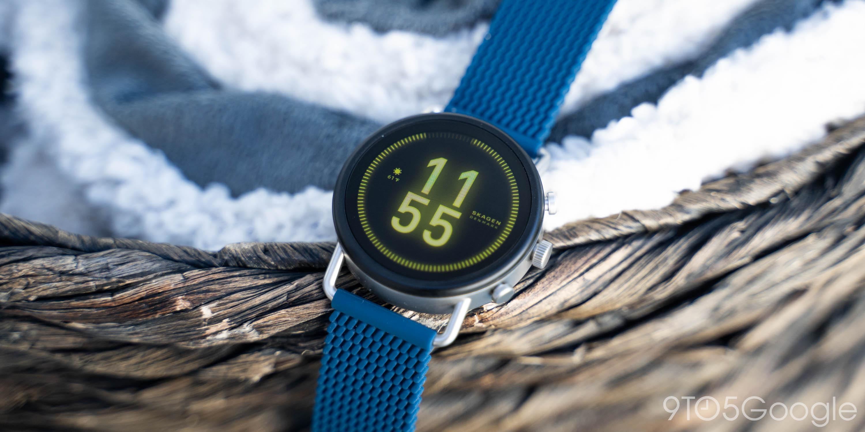 skagen falster 3 wear os smartwatch