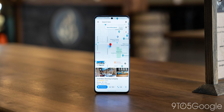 Google Maps actualiza Street View con vista de pantalla dividida en Android