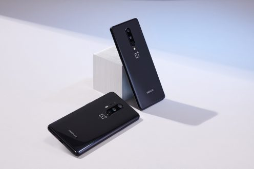 OnePlus 8 and 8 Pro black