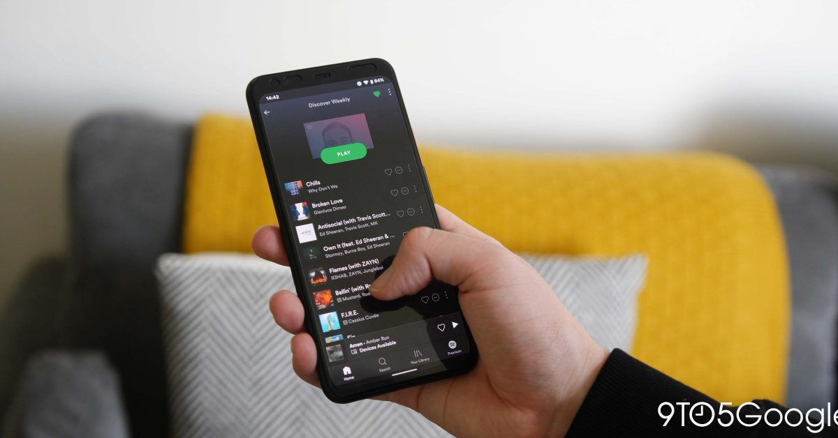 Spotify can now edit playlist image from mobile app - 9to5Google