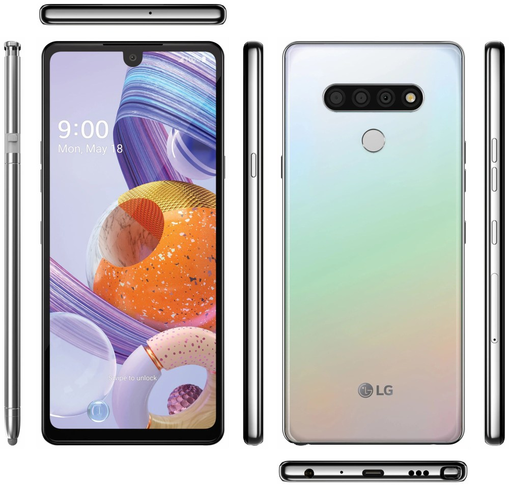 LG Stylo 6 leak shows off gradient color, triple-camera array ...