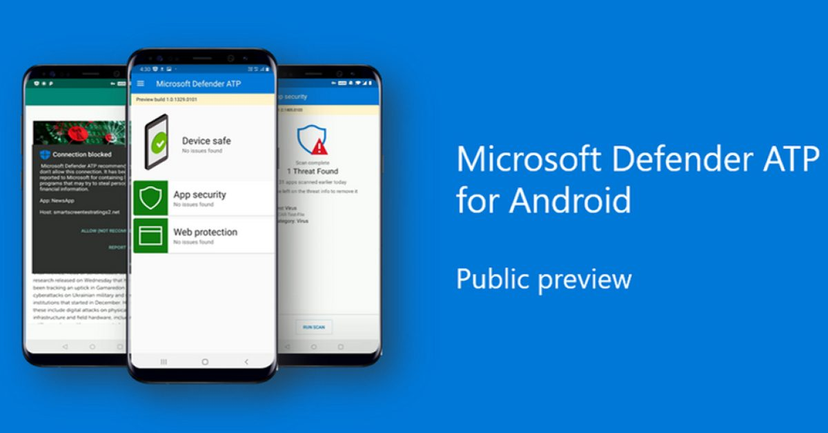 Microsoft Defender antivirus is now available on Android - 9to5Google