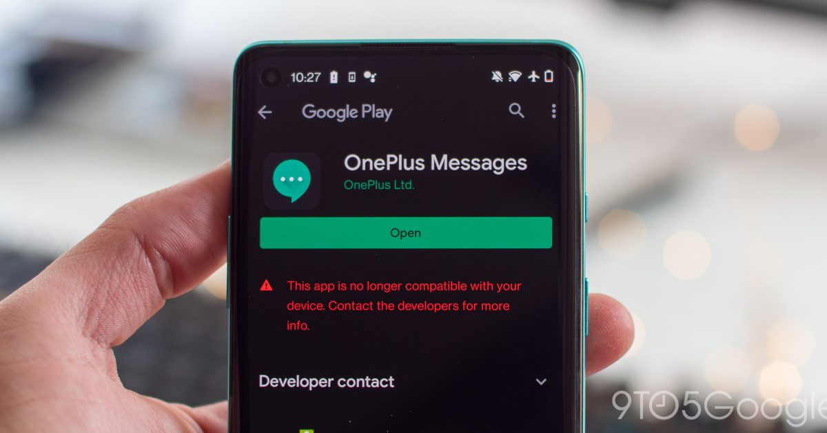 OnePlus Messages now available on the Google Play Store - 9to5Google