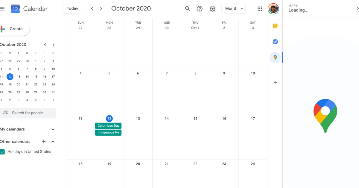 Google Calendar side panel adds Google Maps add-on - 9to5Google
