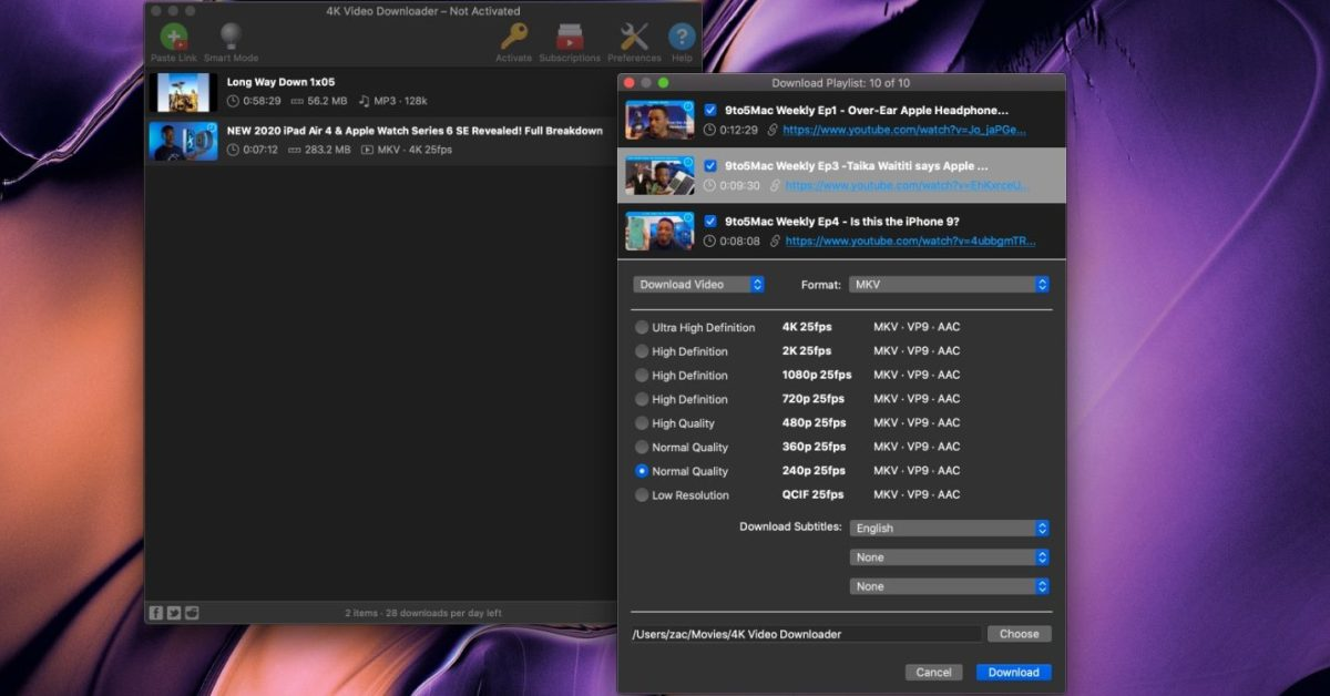 4K Video Downloader is the best way to download YouTube playlists and more
