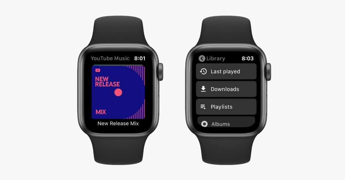 YouTube Music gets Apple Watch app before Wear OS client - 9to5Google