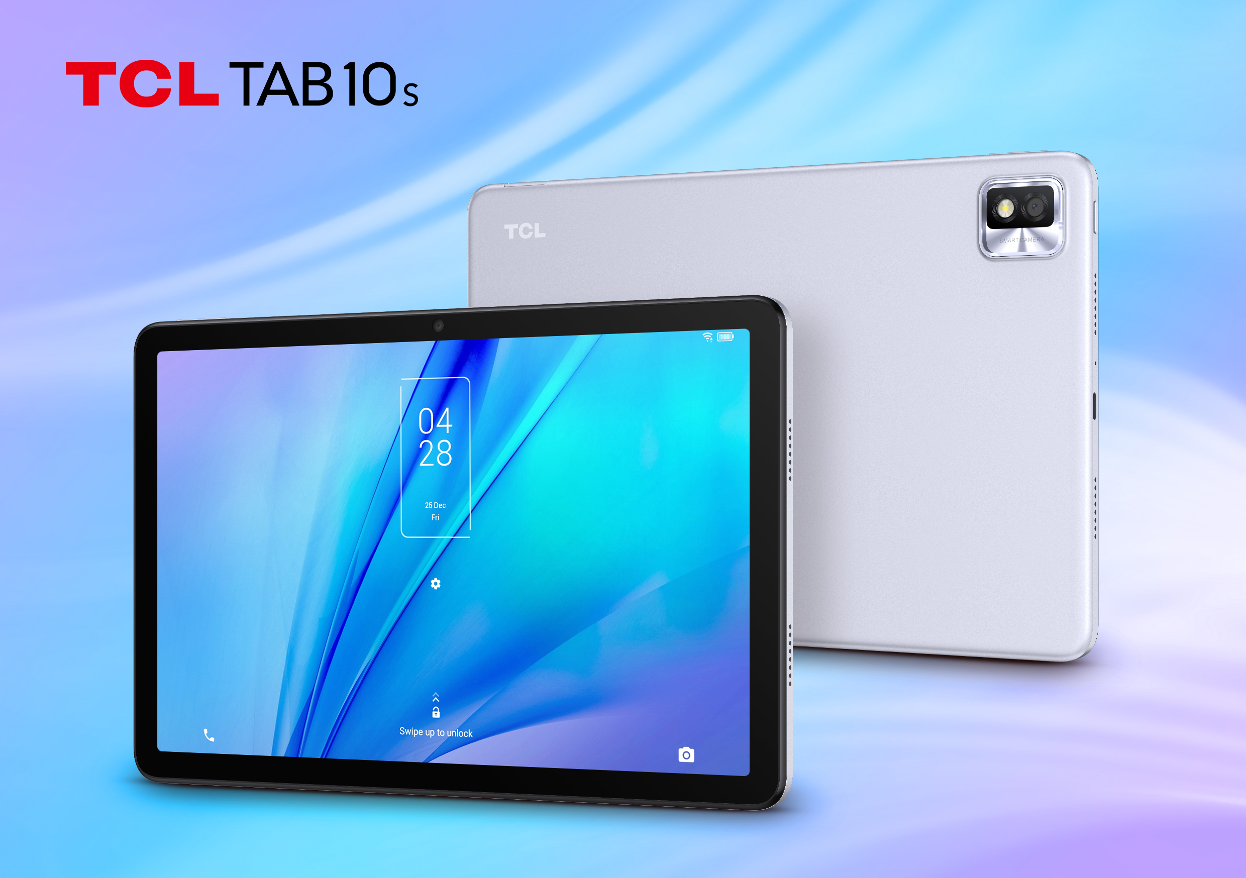 TCL TAB 10S Android tablet in Silver colorway