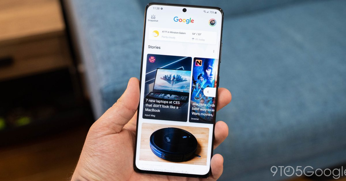 Google Discover starts surfacing YouTube content in 'Short videos' carousel - 9to5Google