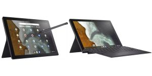 The ASUS Chromebook Flip CM3000 leaked like a hybrid tablet