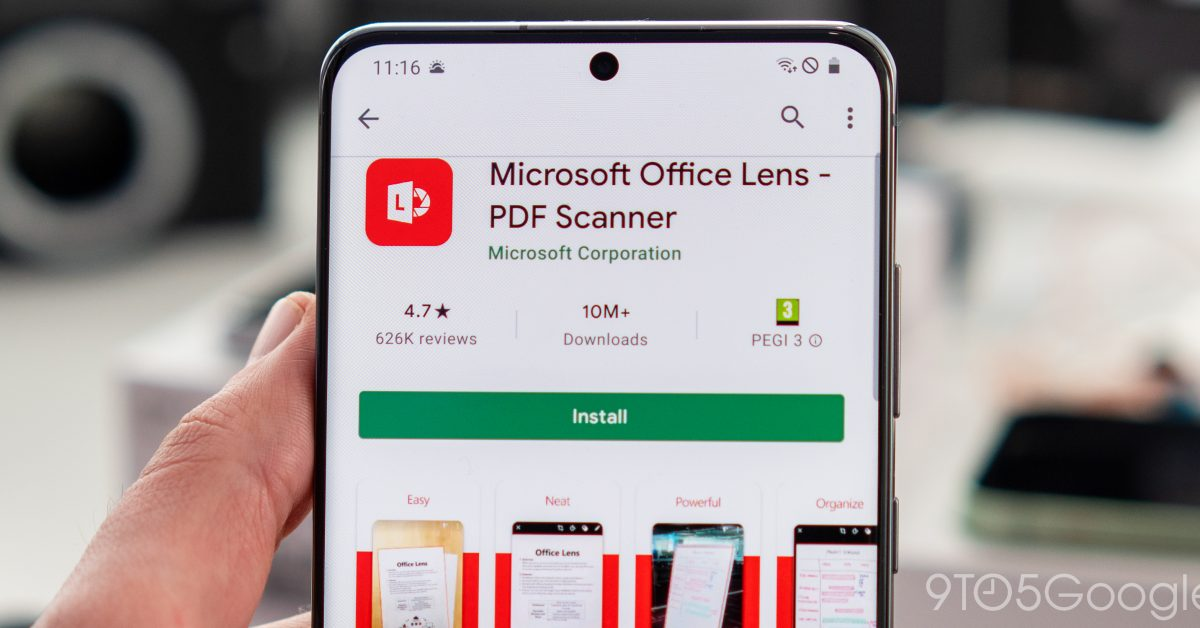 Microsoft rebrands Office Lens and adds enhanced scanning features - 9to5Google