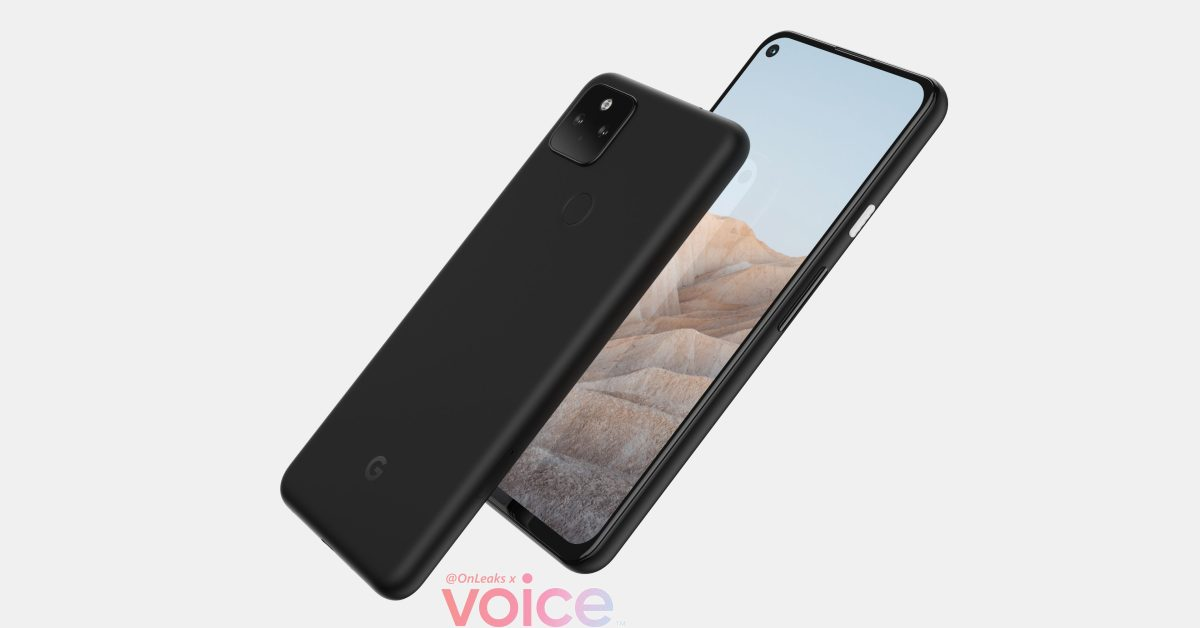 Purported 'Pixel 5a' renders suggest Google's next phone is basically the Pixel 4a 5G thumbnail