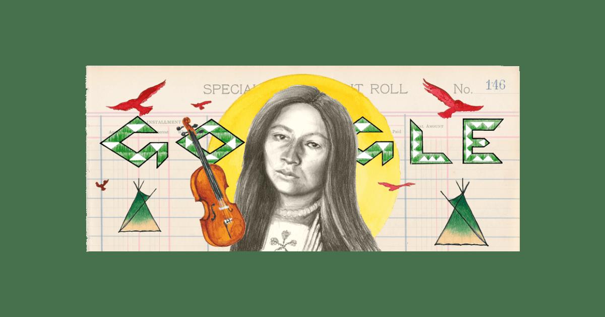 9to5google.com: Google honors Zitkala-Sa, American Indian composer