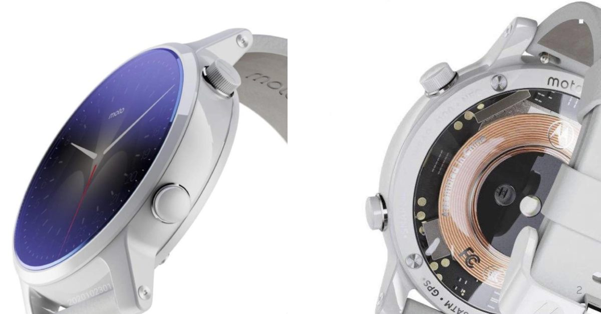 New Moto Wear OS watch with Snapdragon 4100 appears - 9to5Google