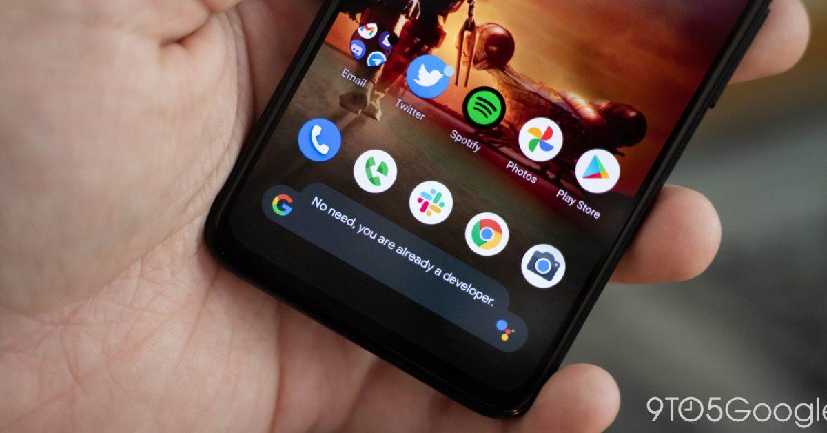Android 12 face în sfârșit toast negru [Gallery]
