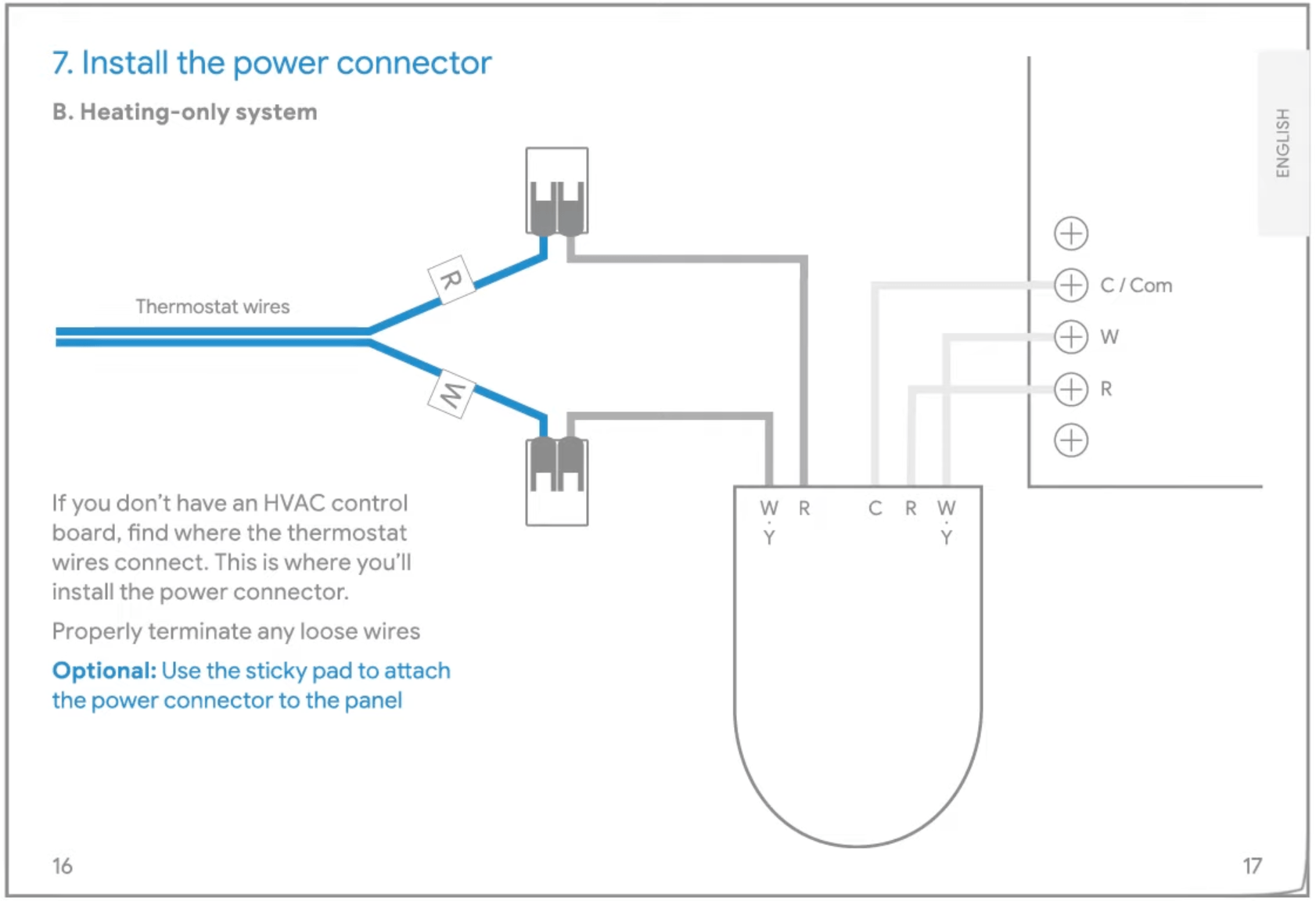 Nest Power Connector Thermostat