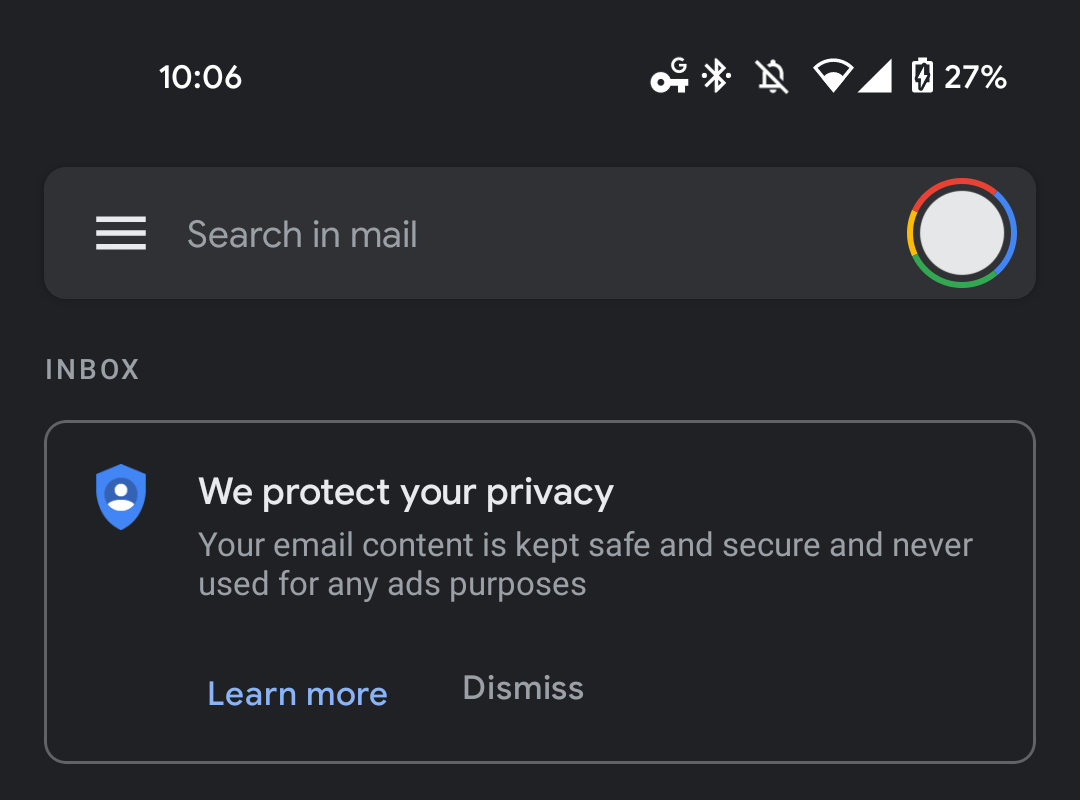 Google protect privacy