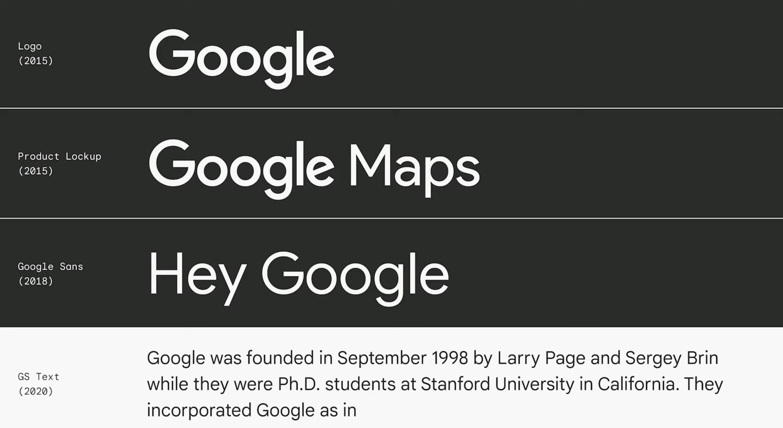 Google Sans Text