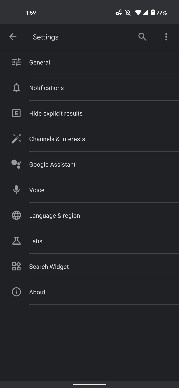Google Hide explicit results
