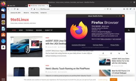 Firefox 72.0.2 on Ubuntu 19.10