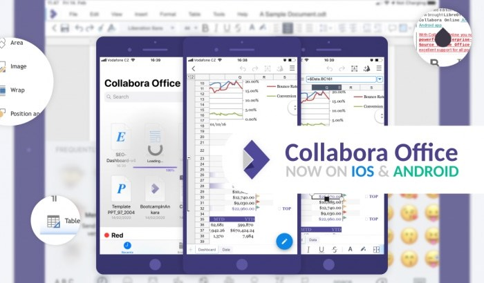 LibreOffice-Based Collabora Office Is Now Available on Android and iOS