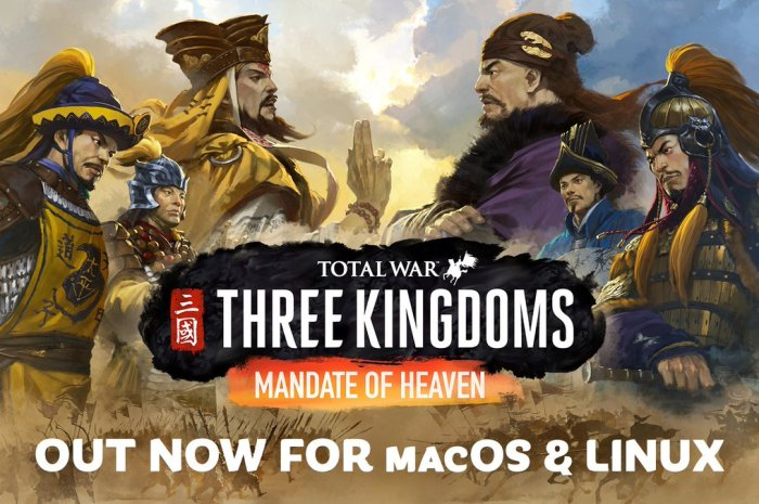 Total War: THREE KINGDOMS – Mandate of Heaven DLC Is Out Now for Linux