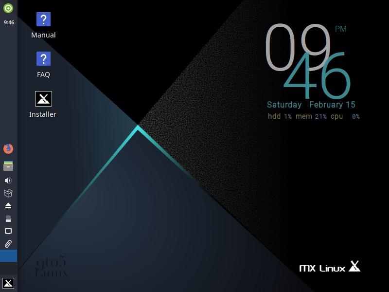 MX Linux 19.1