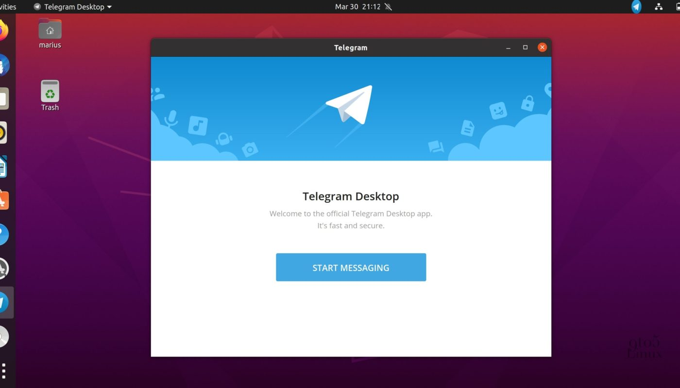 Telegram Desktop 2.0