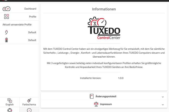 TUXEDO Control Center Lets You Have Full Control over Your TUXEDO Linux Laptop