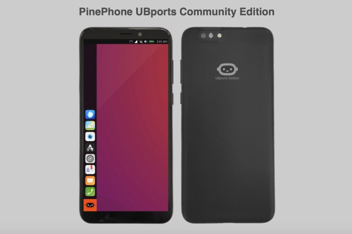PinePhone Ubuntu Touch Edition Now Available for Pre-Order