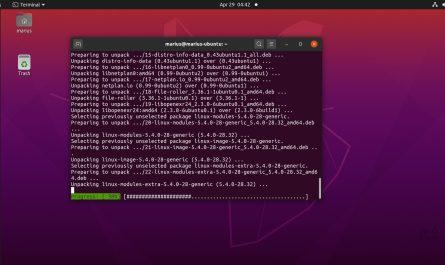 Ubuntu 20.04 kernel update