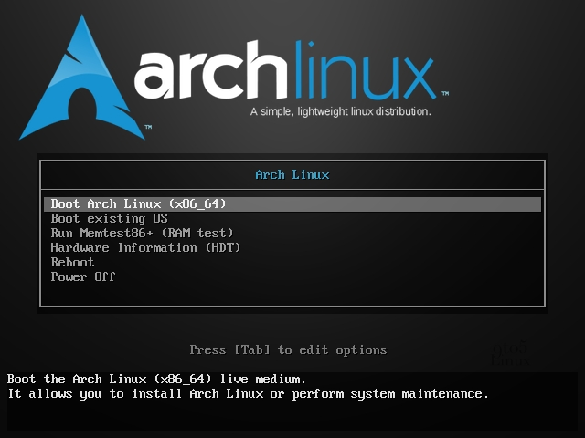 Arch Linux 2020.05.01