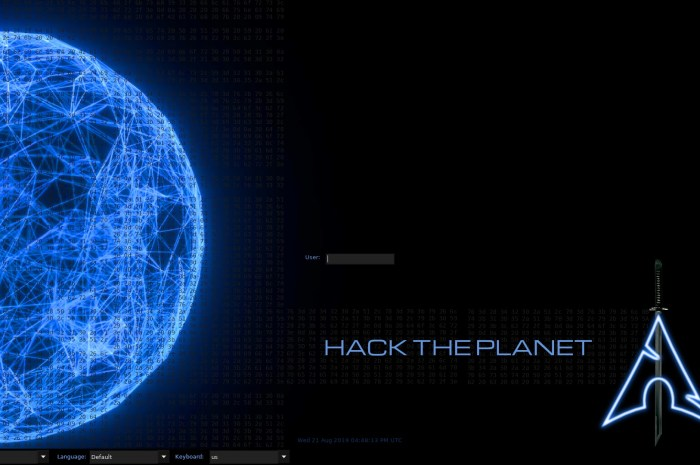 BlackArch Linux Is Now Powered by Linux 5.9, Latest ISO Adds over 100 New Hacking Tools