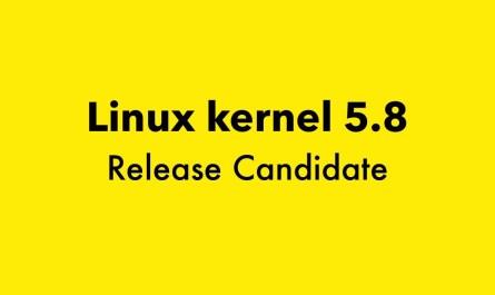 Linux kernel 5.8
