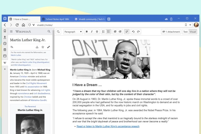 Vivaldi 3.1 Arrives with Full-Page Notes Manager, Configurable Menus, and Faster Startup