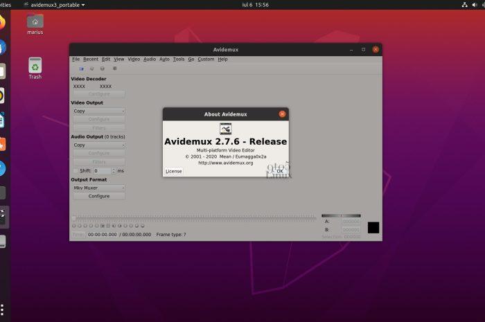 Avidemux 2.7.6 Free Video Editor Released with New AV1 Decoder, Many Changes