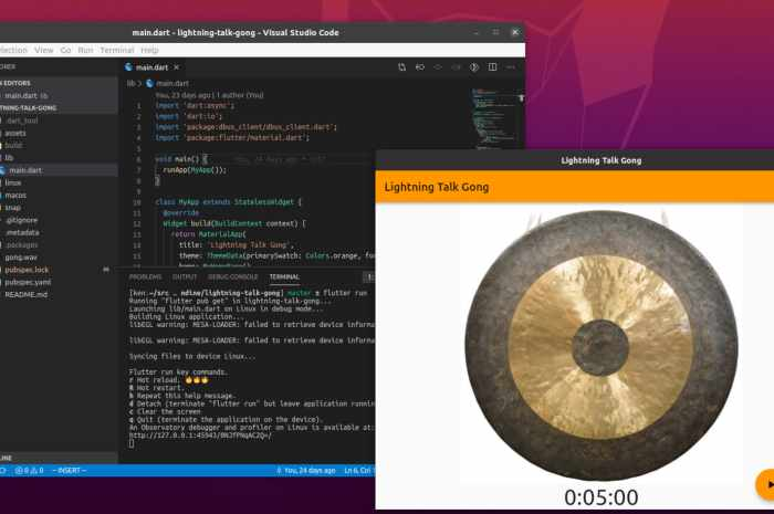 Canonical and Google Team Up to Bring Flutter Apps to the Linux Desktop